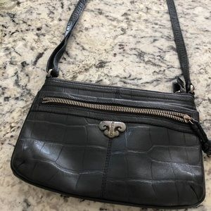 Brighton black leather purse in excellent con